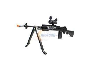 Spring TSD M14 SOCOM 390 FPS Sniper Rifle w/ Bipod Airsoft Gun Airsoft Combo Set