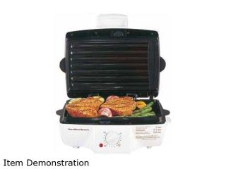 Hamilton Beach Indoor Grill with Removable Grids 25285 White