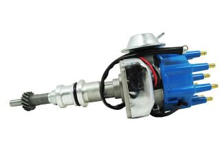 TSP Ready to Run Distributor  FORD 289 302W V8 ENGINES, BLUE CAP JM6702BL