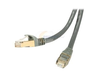 Rosewill RCW 50 CAT7 GE 50 ft. Cat 7 Grey Color Shielded Twisted Pair (S/STP) Networking Cable