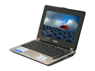 "ASUS N10 Series N10J A1 Notebook Intel Atom N270 (1.60GHz) 2GB Memory 160GB HDD NVIDIA GeForce 9300M GS 10.2"" Windows Vista Home Premium"