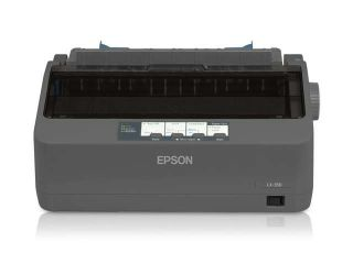 Epson America C11Cc24001 Lx 350,Impact Printer,357 Cps, 9 Pin,Par/Ser/Usb,Orig+4Copies