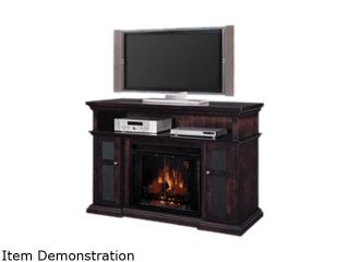 "ClassicFlame Pasadena Collection 60"" Wide Media Mantel Electric Fireplace (Espresso) 28MM468 E721"