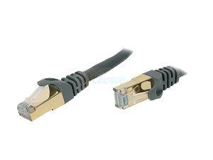 Rosewill RCW 7 CAT7 GE 7 ft. Cat 7 Grey Color Shielded Twisted Pair (S/STP) Networking Cable