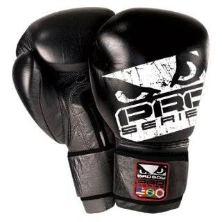 BAD BOY PLATINUM LEATHER BOXING GLOVES 16 OUNCE MMA