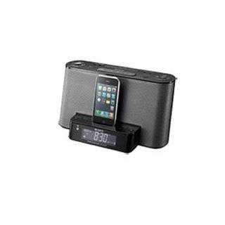 Sony Speaker Dock/Clock Radio for iPod and iPhone   Black