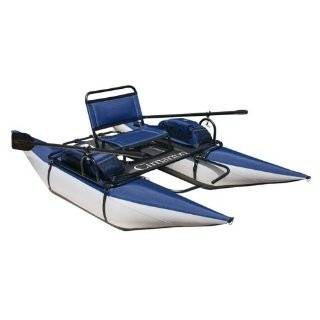 Classic Accessories Cimarron Pontoon Boat (Blueberry / Silver)